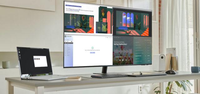 Lernen, Arbeiten und Unterhaltung in einem: Samsung erweitert Smart Monitor Lineup