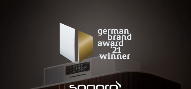 German Brand Award 2021: sonoro siegt in der Kategorie Excellent Brands – Consumer Electronics