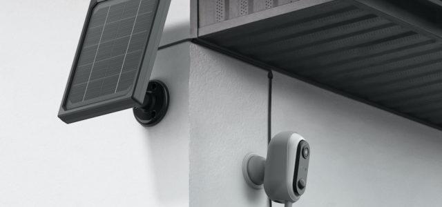 avidsen HomeCam Akku – solarbetriebene Außenkamera für Dauerbetrieb ohne Nachladen