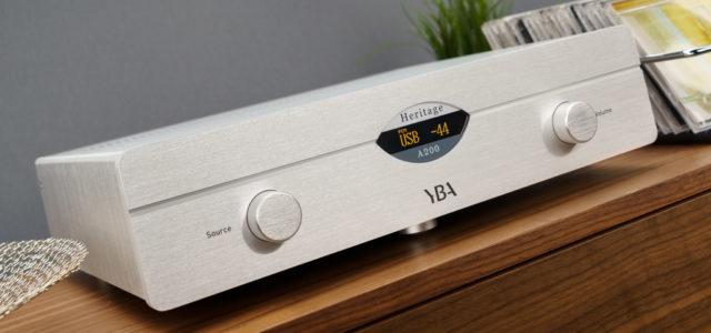 Vollverstärker YBA Heritage A200 – Die Eleganz der Einfachheit