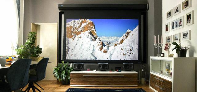 Stewart Luxus G2 – Motorleinwand fürs Referenzkino im Wohnzimmer