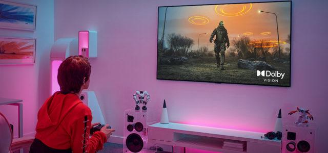 Gaming auf LG Premium TVs erreicht neues Level mit aktuellem Dolby Vision Update