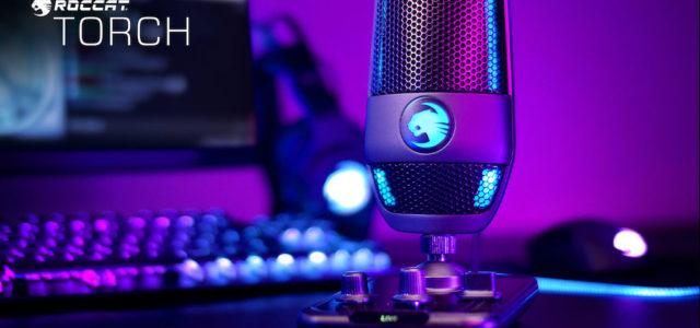 Roccat präsentiert das Torch Mikrofon