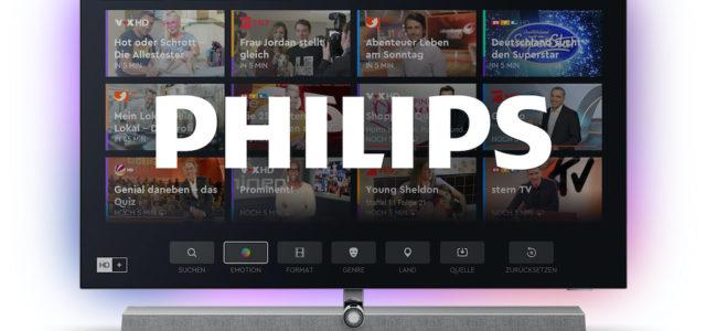 Das beste HD+ aller Zeiten für die neue Generation von Philips TVs