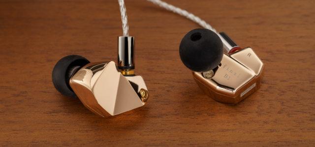 In-Ear-Kopfhörer Final B1 – Gold im Ohr