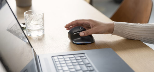 Trust Bayo: die Maus, die Arm und Handgelenk entspannt
