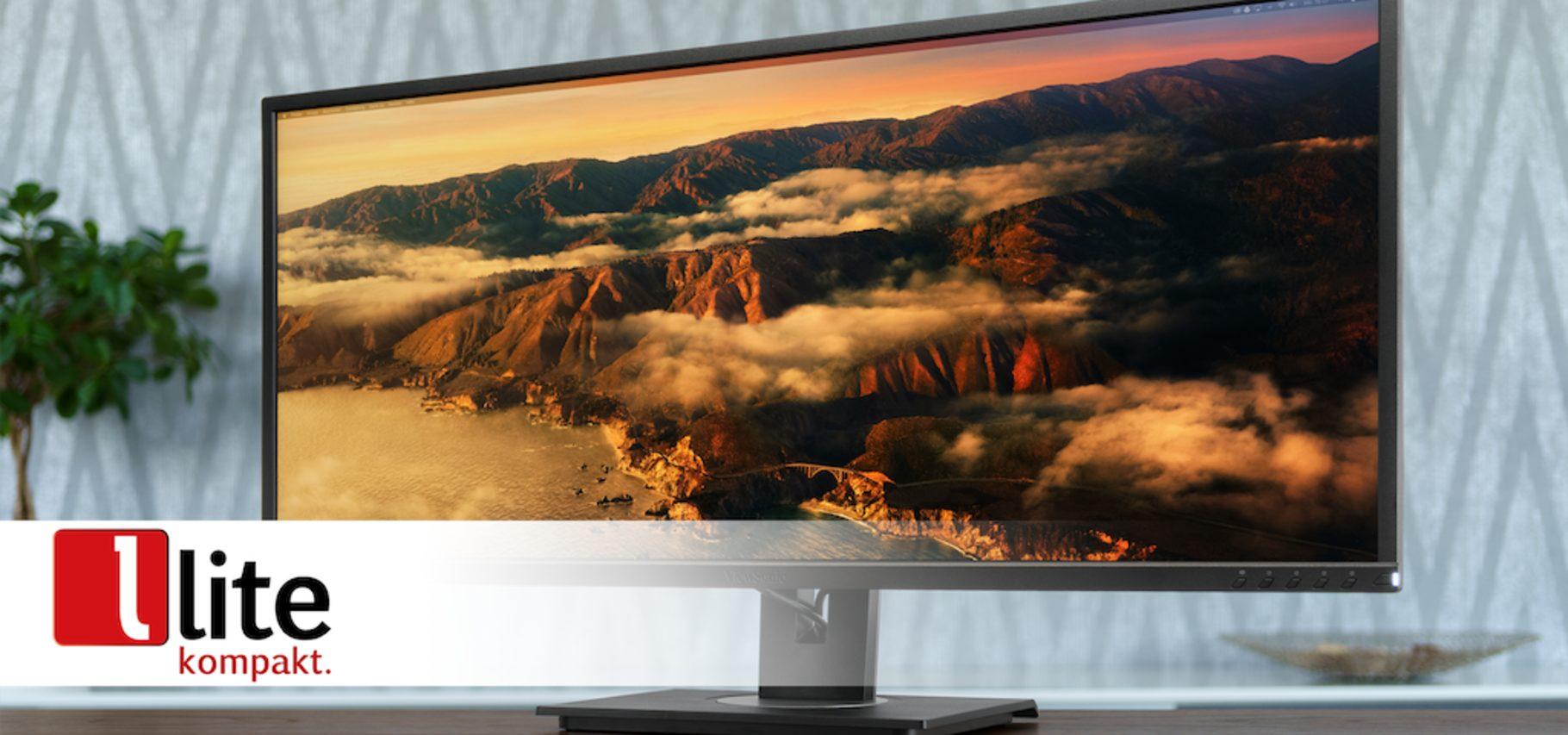ViewSonic VG3456 – 21:9-Monitor für Home Office, Freizeit und Heimkino-Spaß