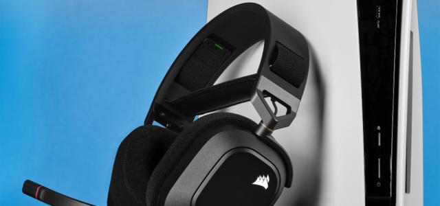 Corsair präsentiert das neue HS80 RGB WIRELESS Gaming-Headset