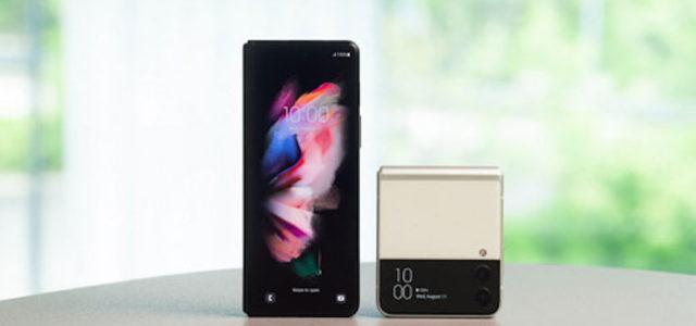 Jetzt deutschlandweit erhältlich: Das Galaxy Z Fold3 5G und das Galaxy Z Flip3 5G