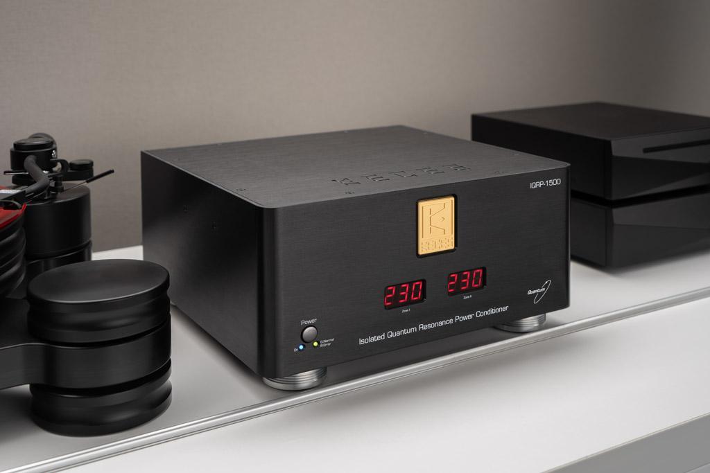 So attraktiv kann ein Power Conditioner sein: Der Keces IQRP-1500 stellt auch optisch eine Aufwertung der Klangkette dar.
