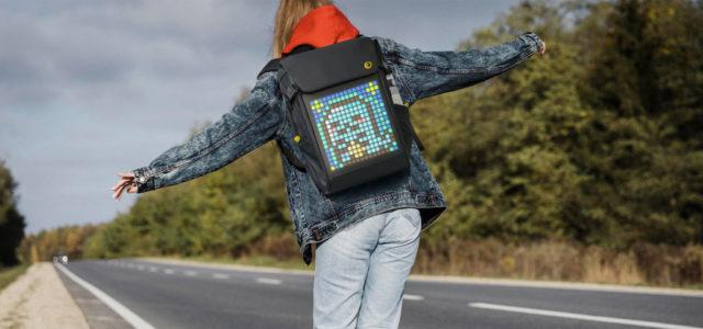 Divoom Backpack M mit Pixel-Art LED-Display ist Platz- und Funktionswunder zugleich