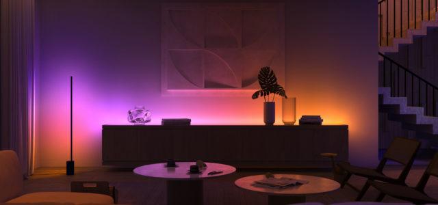 Neue Philips Hue Produkte und Innovationen vereinen Licht, Farbe und Sound