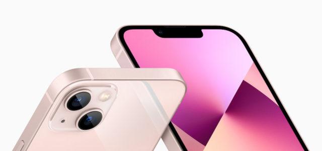 Apple iPhone 13 und iPhone 13 mini – mit einem ganz neuen Kamerasystem und leistungsstarken Chip