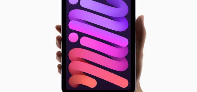 Apple iPad mini – mit bahnbrechender Leistung in einem beeindruckenden neuen Design