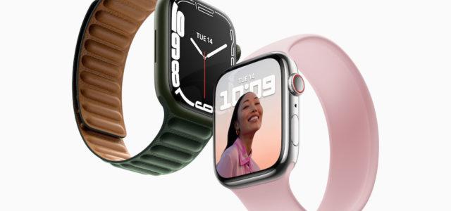 Apple Watch Series 7 mit einem größeren und fortschrittlicheren Display