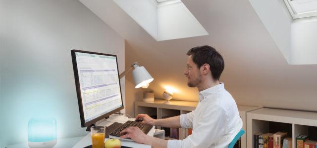 Konzentriertes Arbeiten im Homeoffice: Perfekt beleuchtet mit WiZ