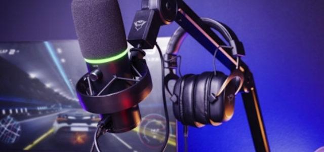 Trust Onyx Mikrofon für professionelle Sprachaufnahme