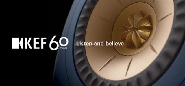 KEF feiert 60 Jahre führende High-Fidelity-Innovation