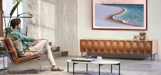Samsung: The Frame bringt Kunstwerke aus dem Louvre ins Wohnzimmer