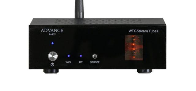 Advance Paris präsentiert den neuen WTX- StreamTubes Netzwerk Audio Player mit HiRes-Support und  Röhrentechnologie
