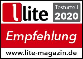 200925 Audio Physic -Testsiegel Empfehlung