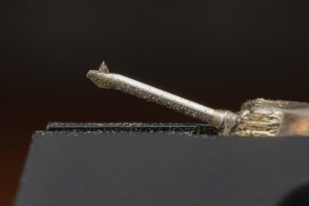 Mit dem sphärischen Nadelschliff und der geringen Nadelnachgiebigkeit erweist sich das DL-A110 als robustes und gutmütiges MC-System.